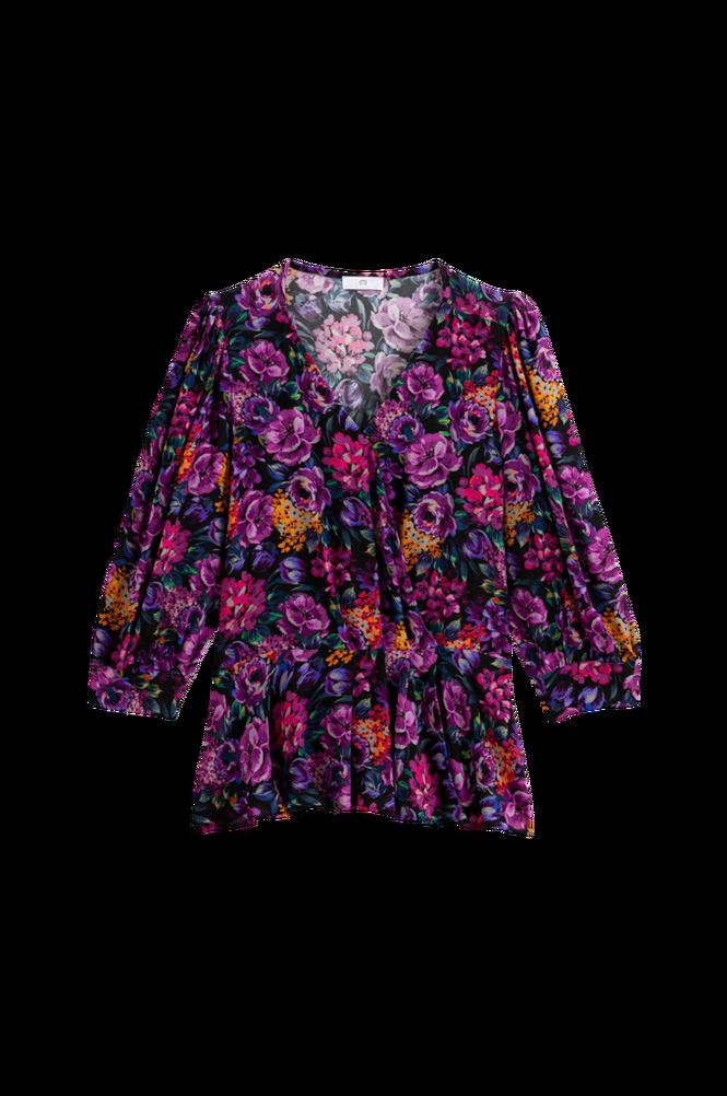 La Redoute Blomstret slå-om-bluse