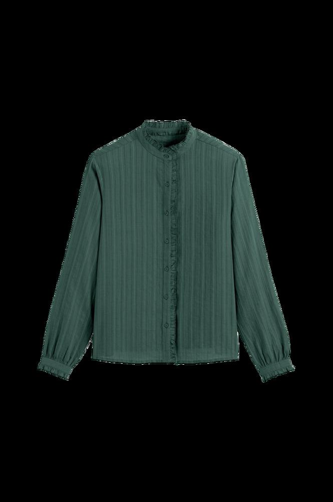 La Redoute Skjorte med standkrave og langt ærme