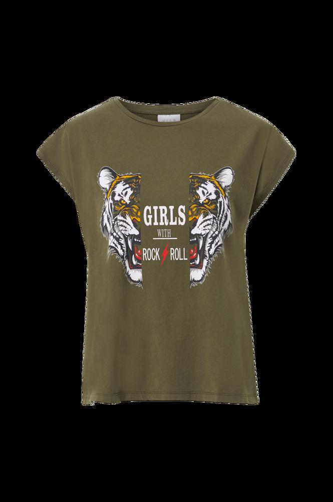 Vila Top viBeck Tiger S/S T-shirt