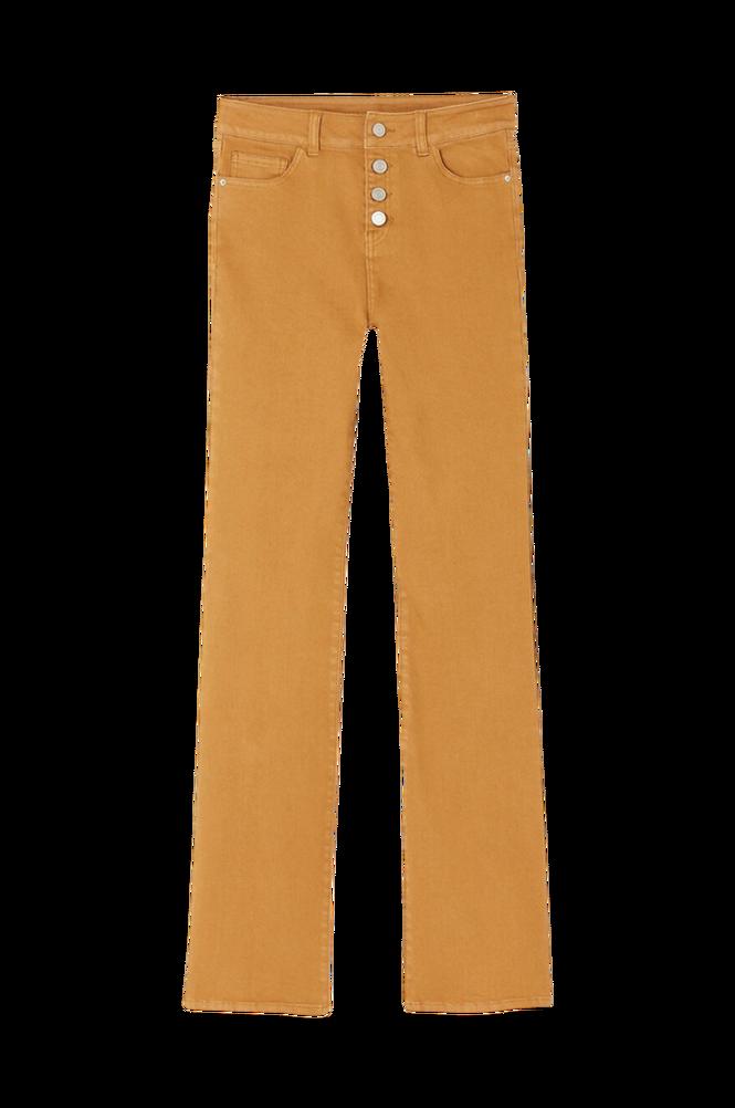 La Redoute Bootcut jeans med høj talje og synlig knaplukning