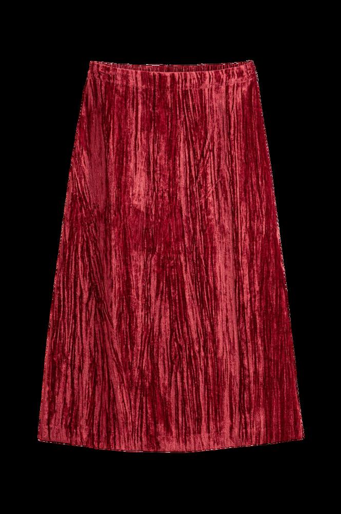 La Redoute Lang nederdel i nervøs velour