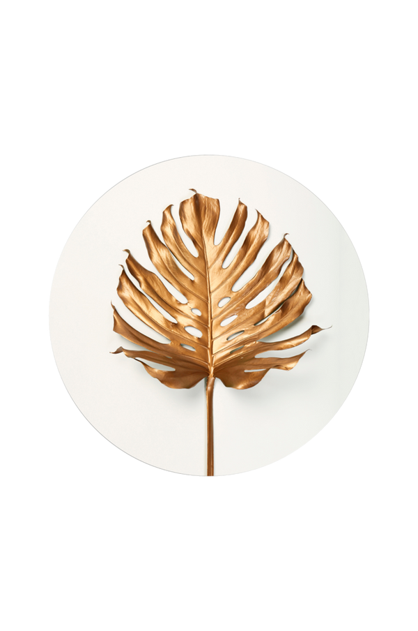 Bilde av Bilde Monstrea gold leaf - 30151