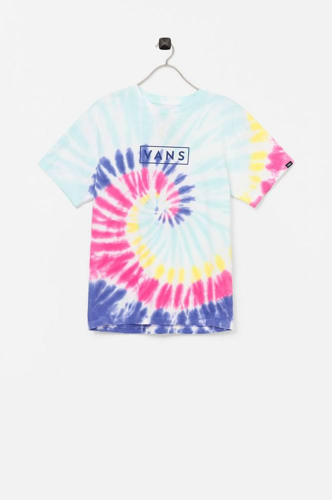 Vans T-shirt Tie Dye Easy Box Tee Boys