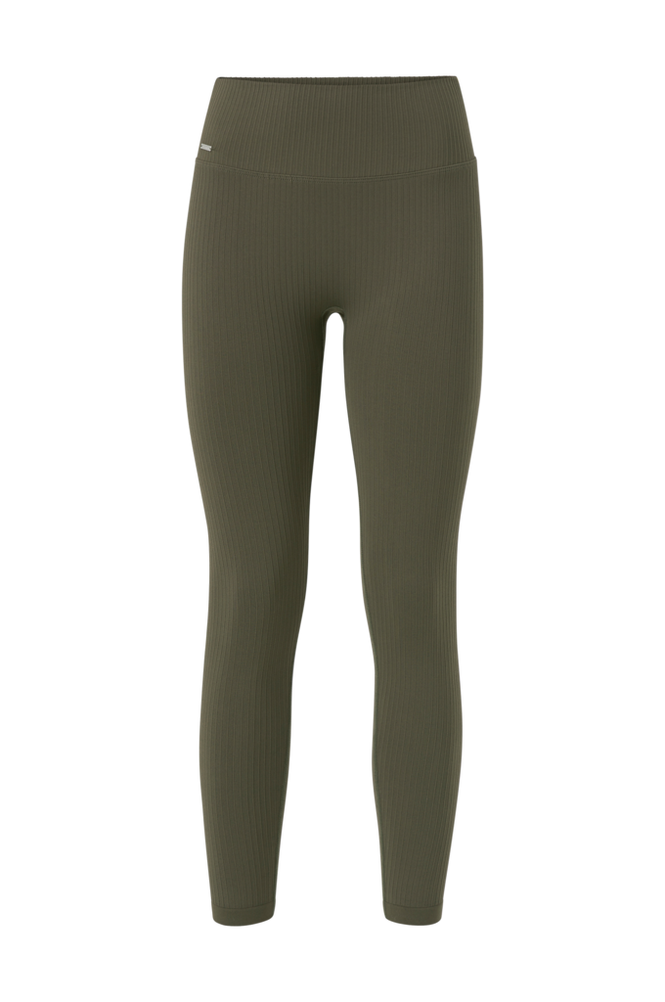 Aim'n Træningstights Khaki Ribbed Seamless Tights