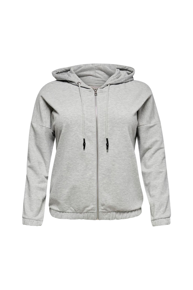 Only Carmakoma Hoodie carDelli Life Short Zip Hood