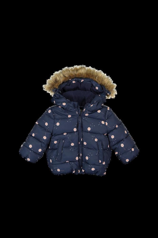La Redoute Varm quiltet jakke med hætte