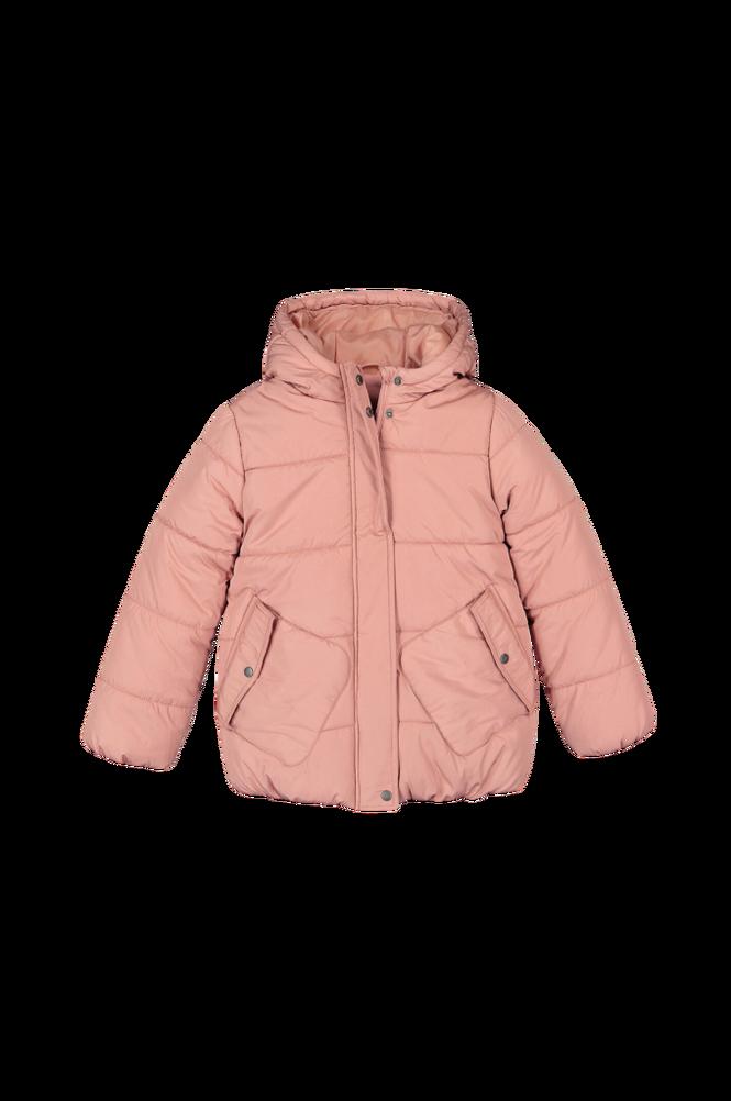 La Redoute Quiltet jakke med hætte og fleecefor