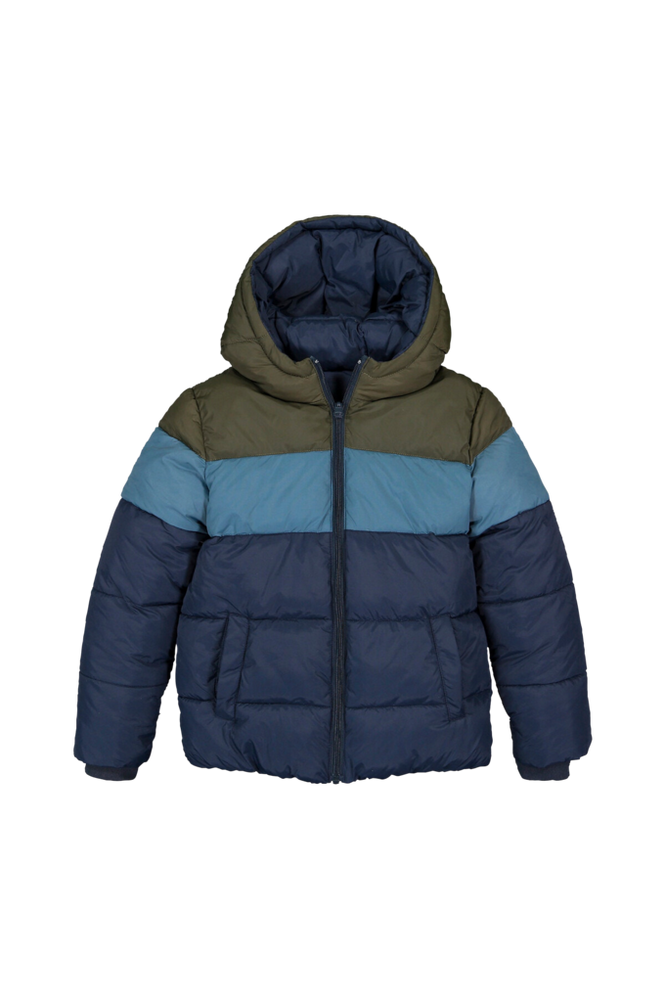 La Redoute Quiltet, vendbar jakke med hætte