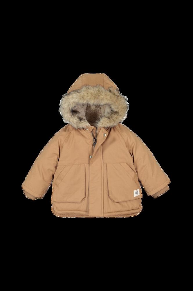 La Redoute Varm, vatteret jakke med hætte