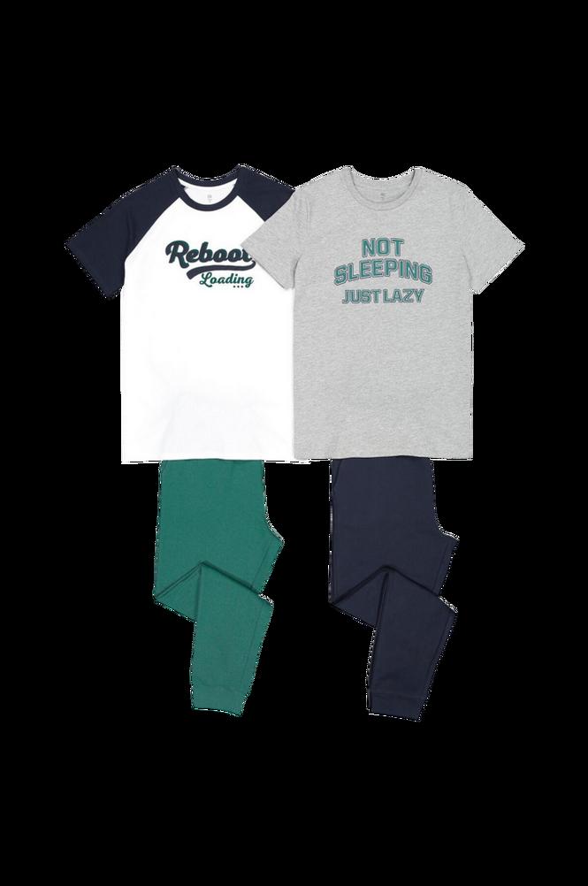 La Redoute Pyjamas i to materialer, 2-pak
