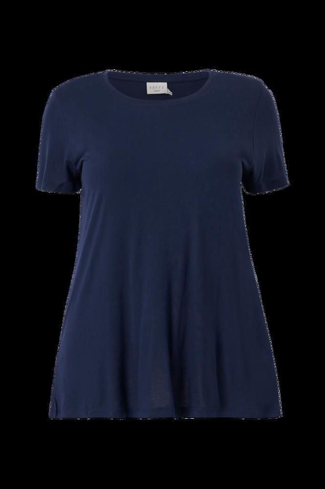 KAFFE Curve Top kcAneli U-neck T-shirt