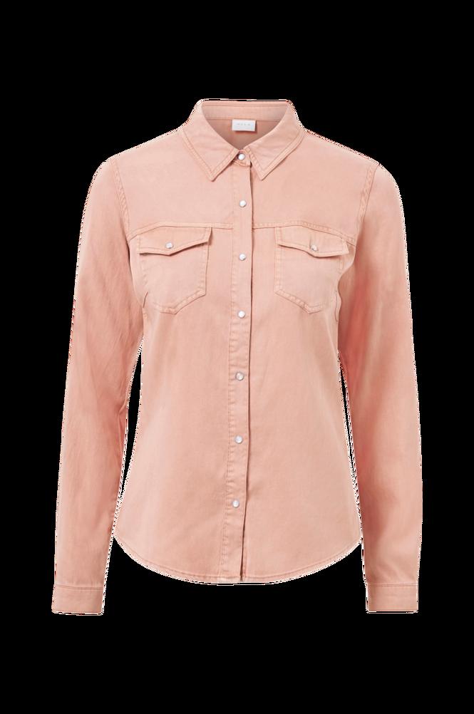 Vila Skjorte viBista Denim Shirt