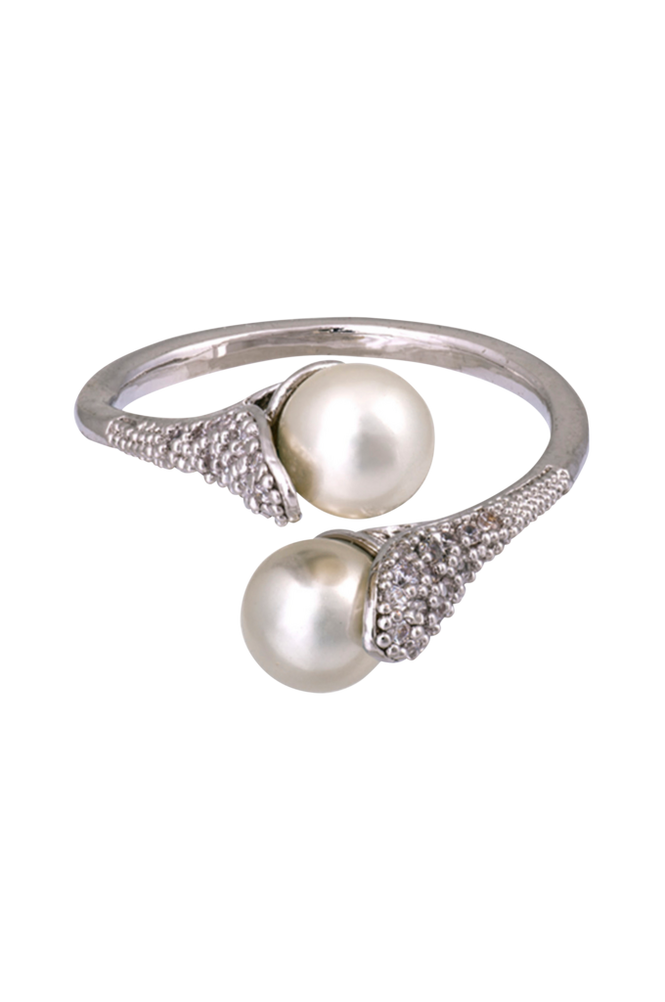 Lily and Rose Ring Jackie Pearl Silver