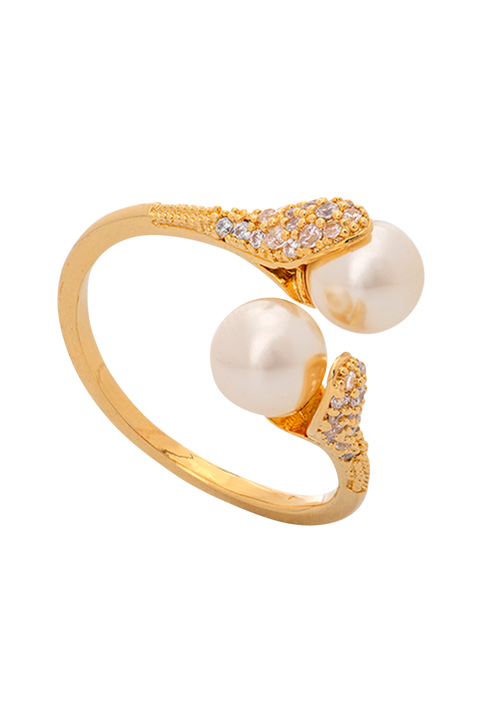 Ring Jackie Pearl Gold