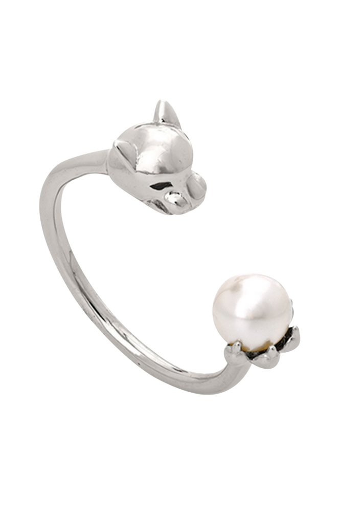 Lily and Rose Ring Queen Sheba Silver