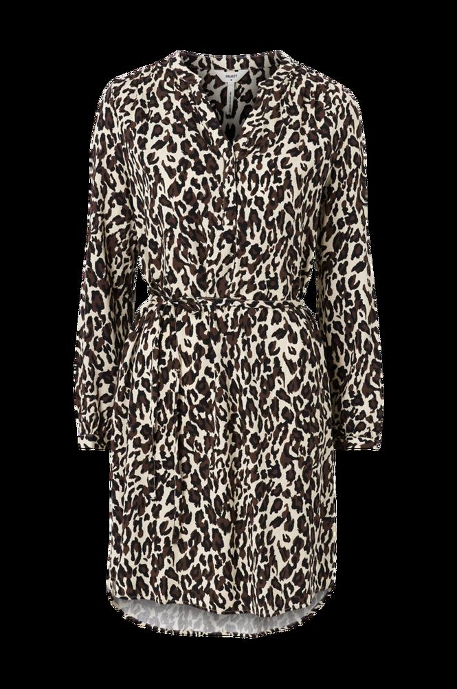 Object Kjole objBaya L/S V-neck Dress Aop Seasonal