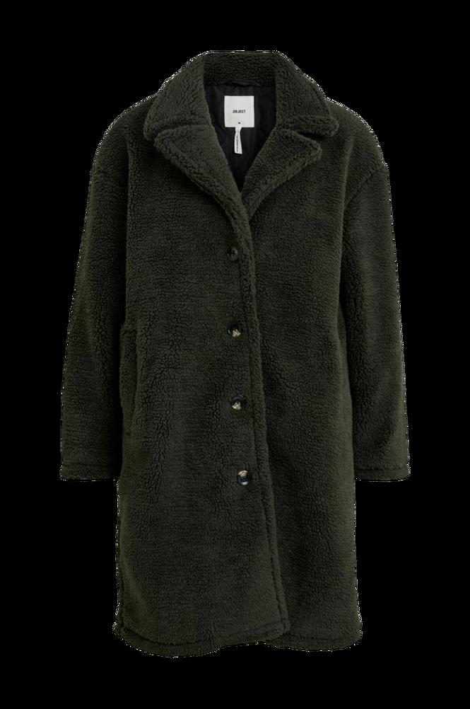 Object Kunstpels objTed L/S Coat