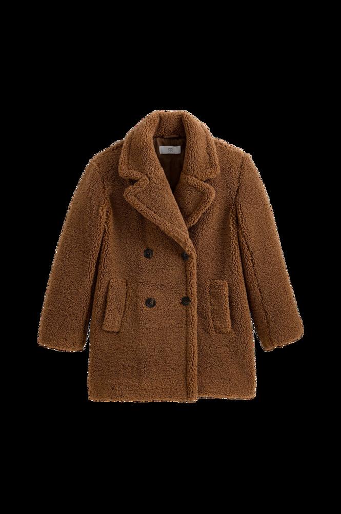 La Redoute Frakke i imiteret fåreskind