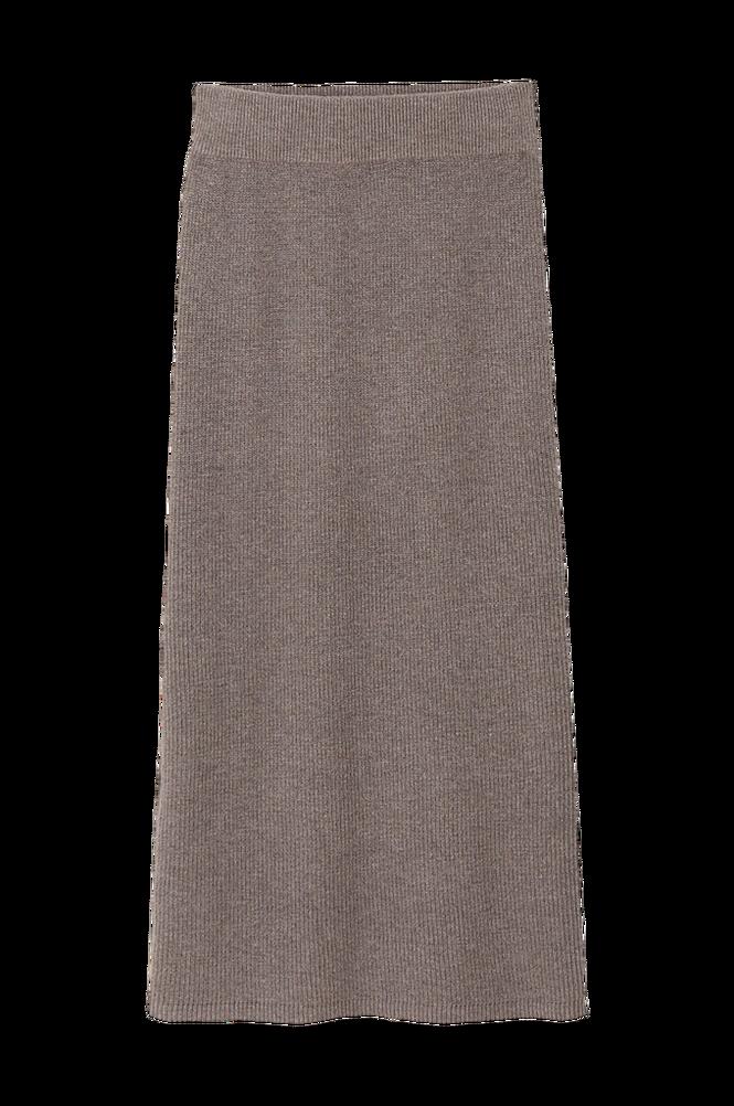 La Redoute Strikket, rørformet nederdel i midilængde