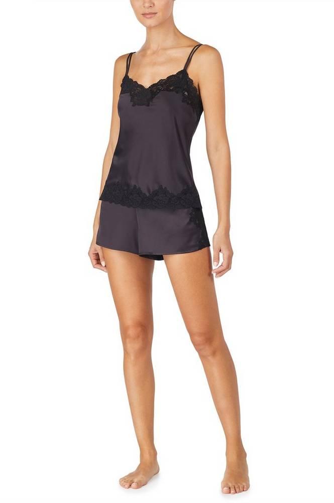 Lauren Ralph Lauren Pyjamas LRL Signature Lace Cami Top Set
