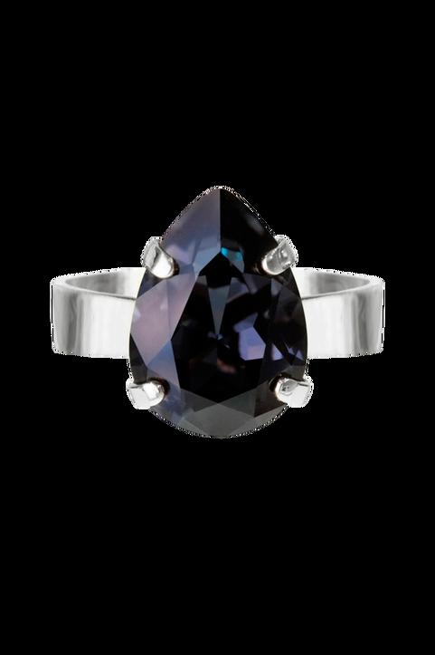 Ring Mini Drop Rhodium