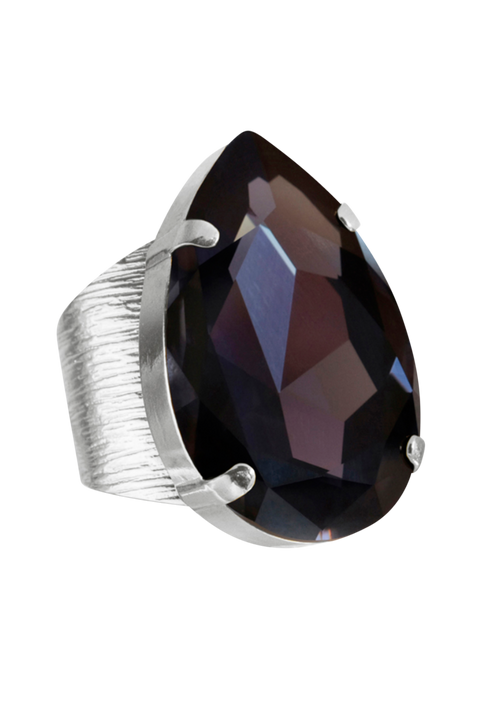 Ring Perfect Drop Rhodium