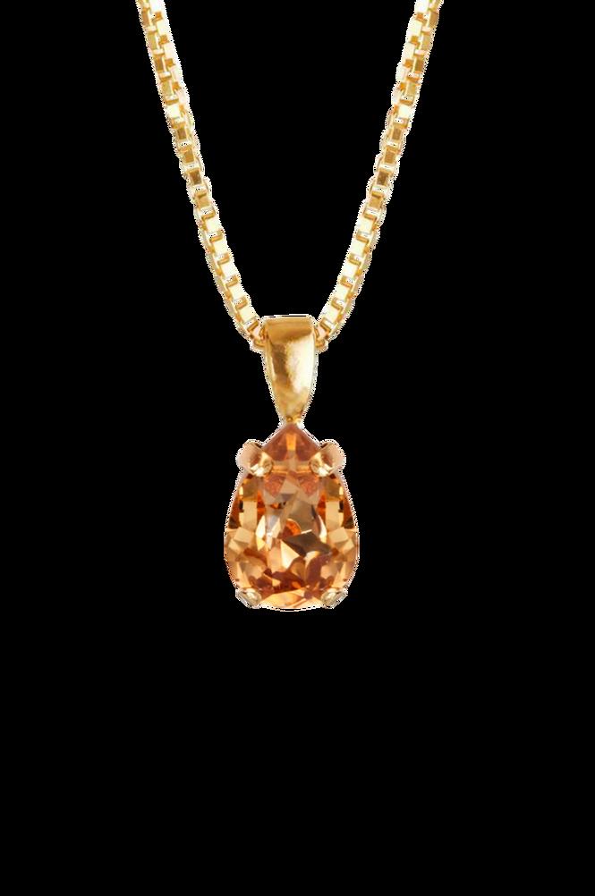 Caroline Svedbom Halskæde Petite Drop Necklace Gold