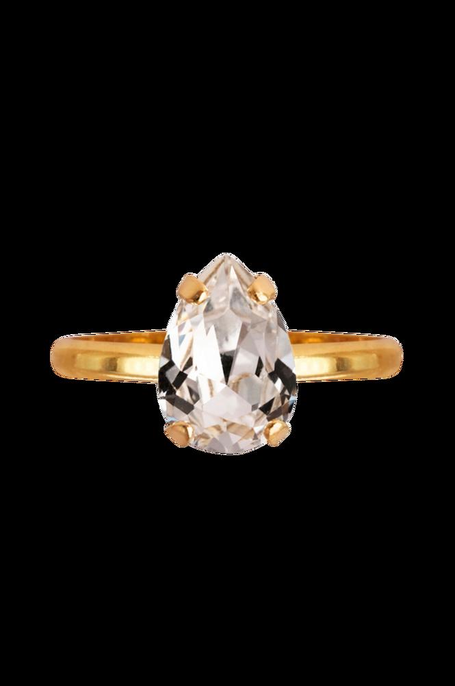 Caroline Svedbom Ring Petite Drop Gold