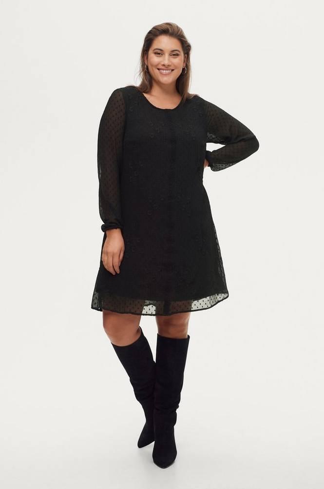 Zizzi Kjole eMarissa L/S Abk Dress