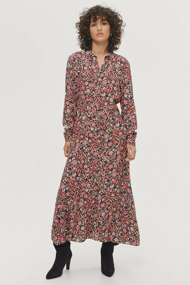 Soaked in Luxury Maxikjole slOda Shirt Dress