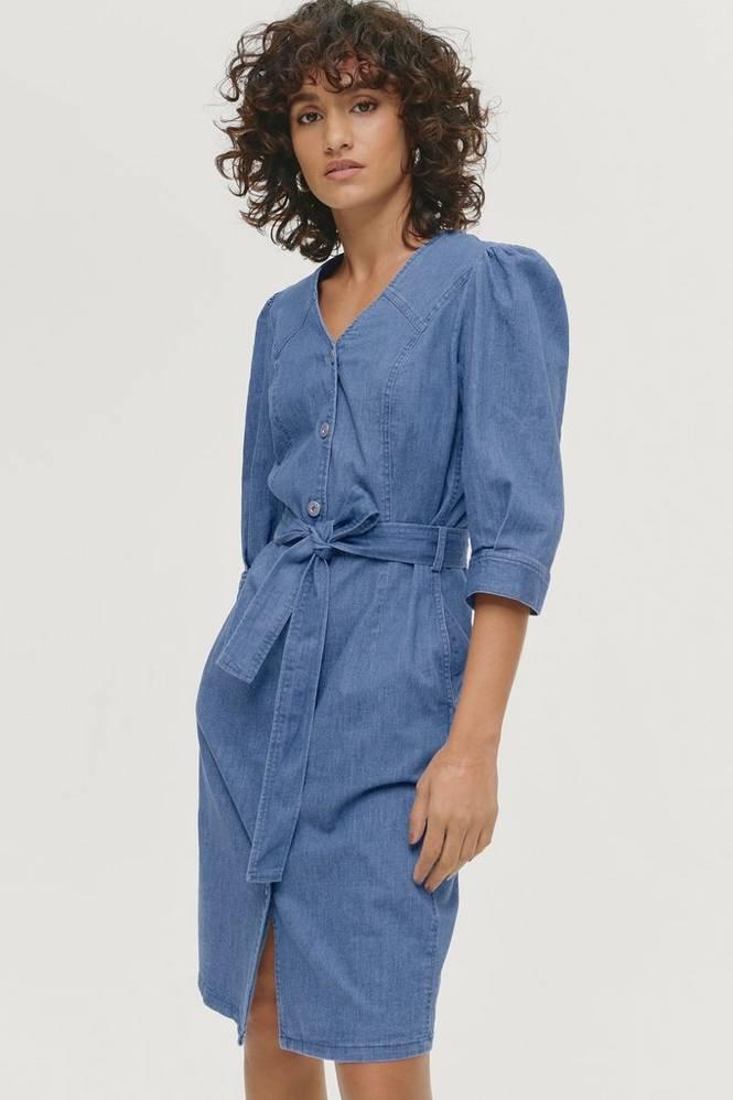 Soaked in Luxury Kjole slTinatin Denim Dress