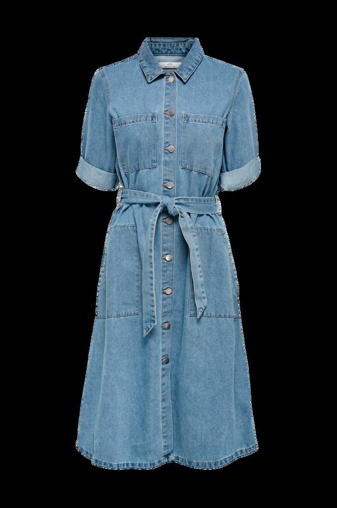 Jacqueline de Yong Denimkjole jdyAthena 3/4 Belt Dress