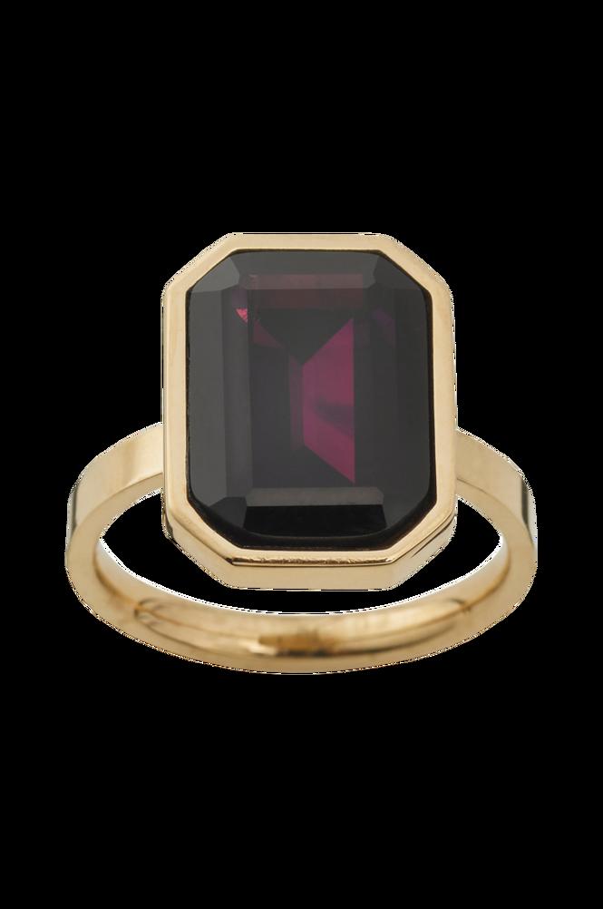 Edblad Ring Grand Plum Gold