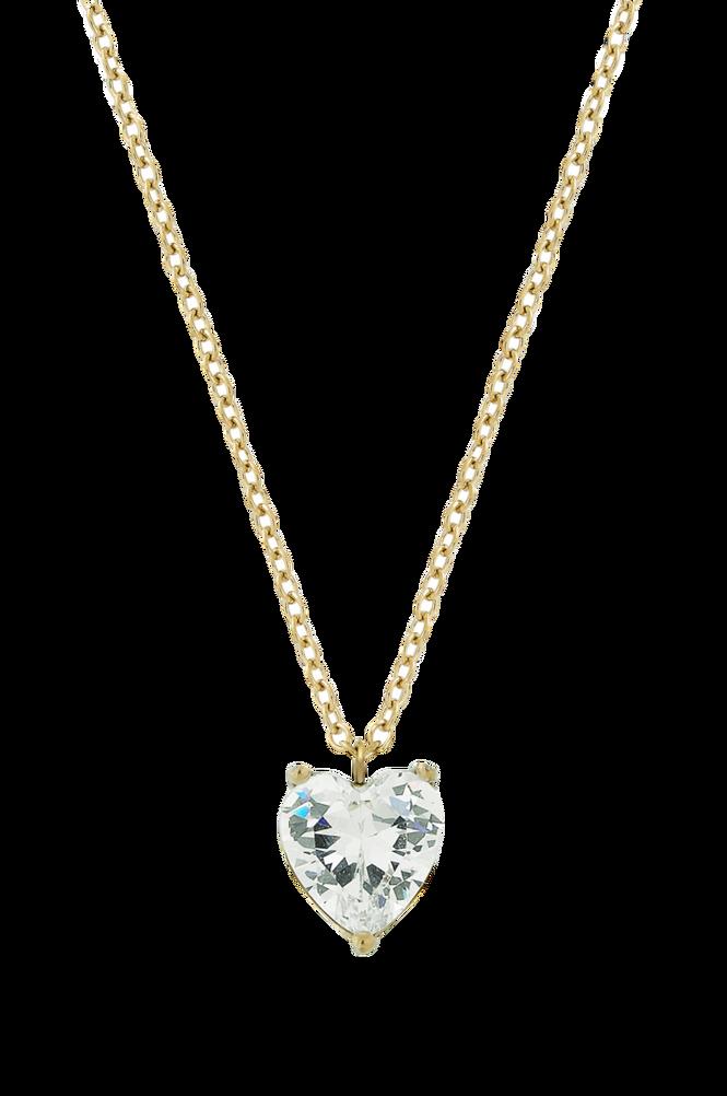 Edblad Halskæde Timeless Heart Necklace Gold