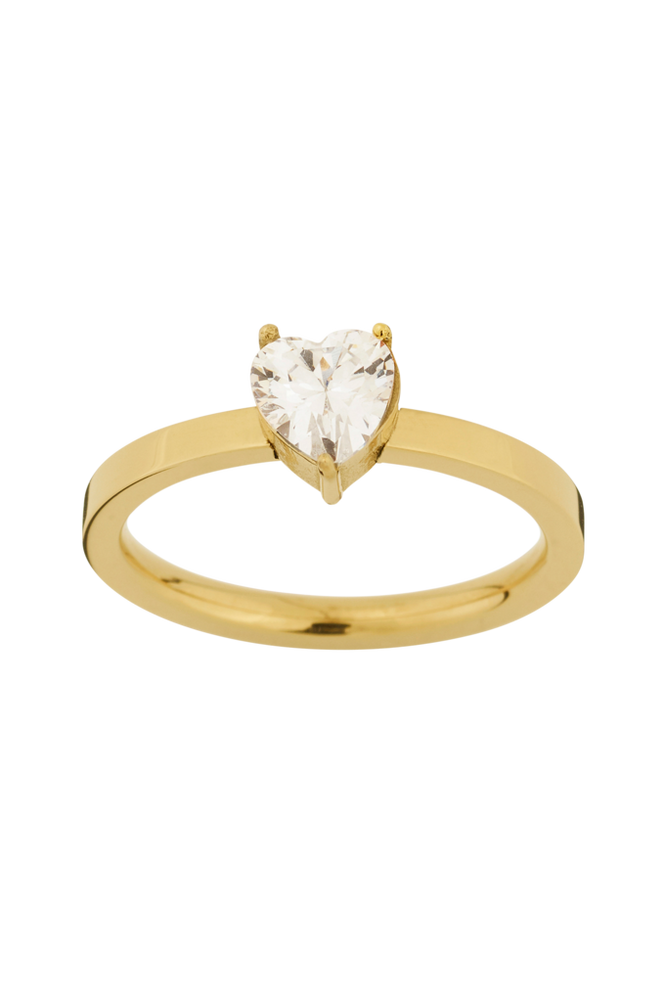 Edblad Ring Timeless Heart Ring Gold