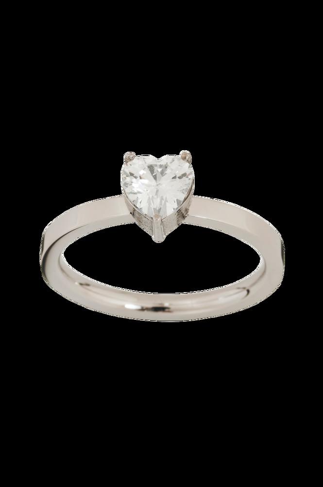 Edblad Ring Timeless Heart Ring Steel