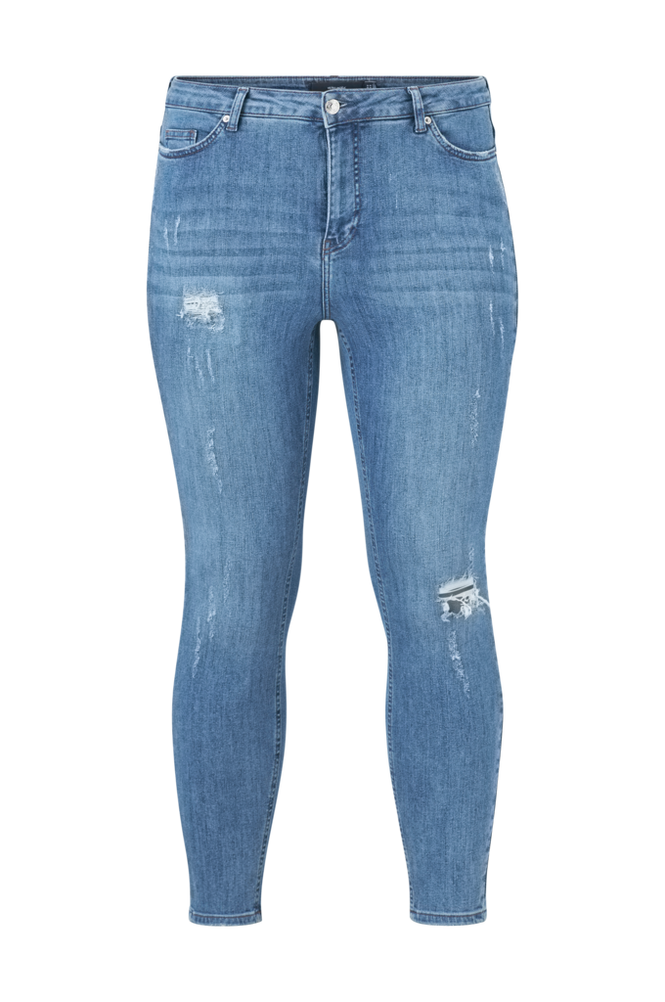 Vero Moda Curve Jeans vmLoraanne Destroy Jeans K Curve