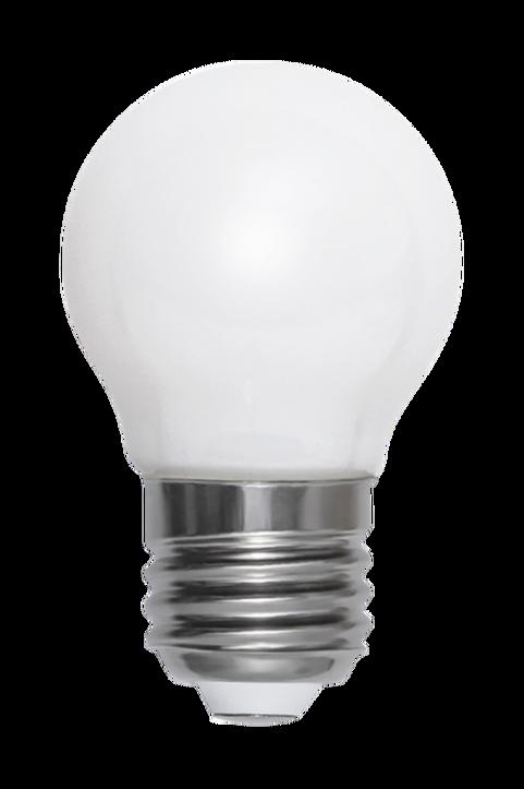 Ljuskälla E27 LED Filament Glob Opal 45 mm, 4,5W