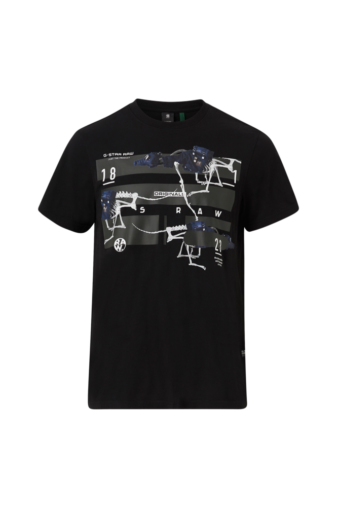 G-Star T-shirt Running Dog Logo+ R T S/S