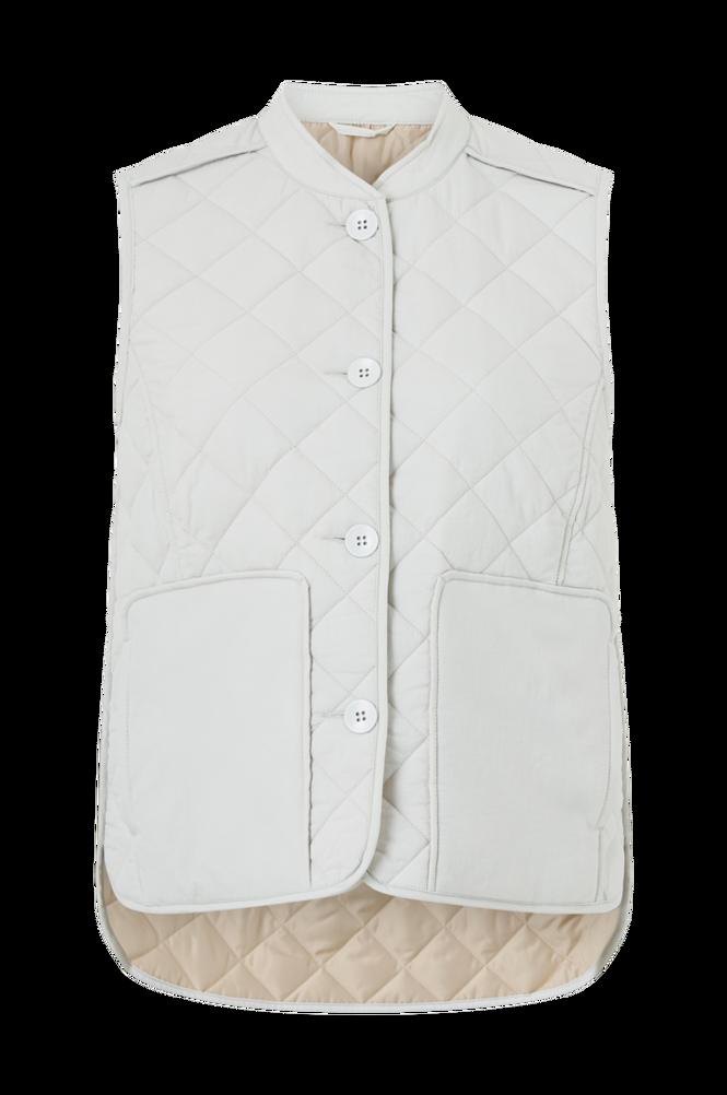 Vila Vest viLouisa Short Quilted Waistcoat