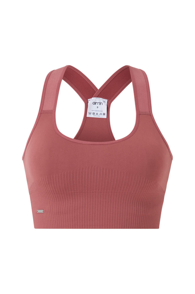 Aim'n Sports-bh Pink Beat Ribbed Seamless High Support Bra