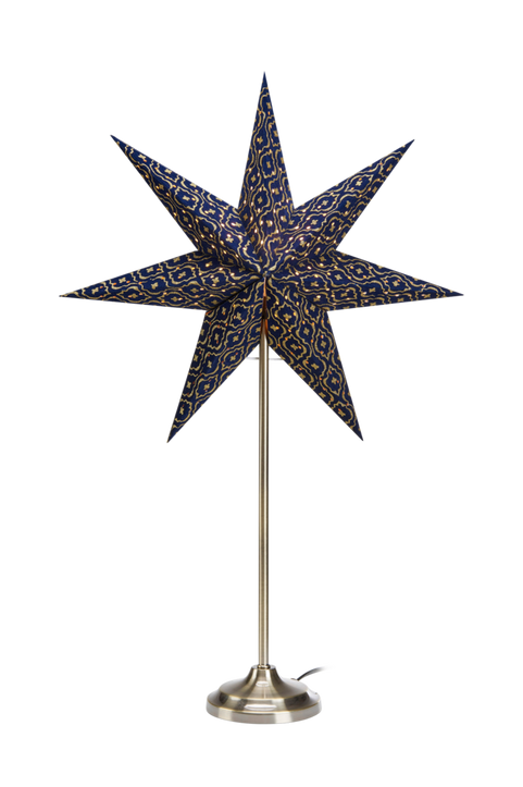 BAROQUE bordsstjärna 45 cm