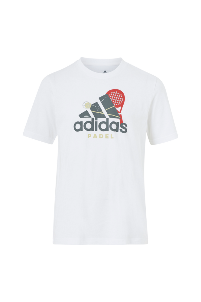 Se adidas Padel/Tennis T-shirt Men Padel Graphic Logo ved Ellos