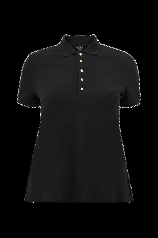 Lauren Ralph Lauren Curve Poloshirt Athleisure Pique SS Polo