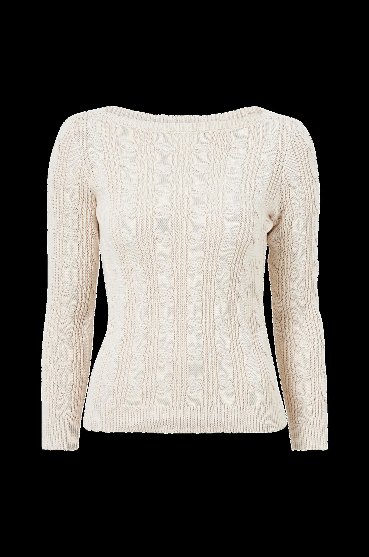 Lauren Ralph Lauren - Tröja LS BT NCK Sweater - Natur