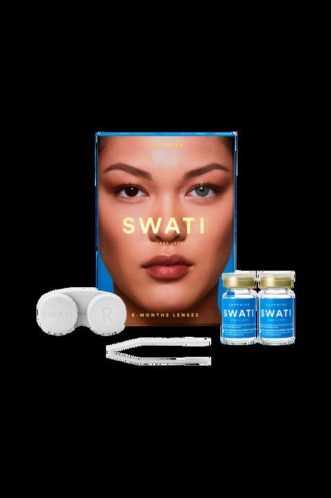 Sapphire 6-månaders kosmetiska linser