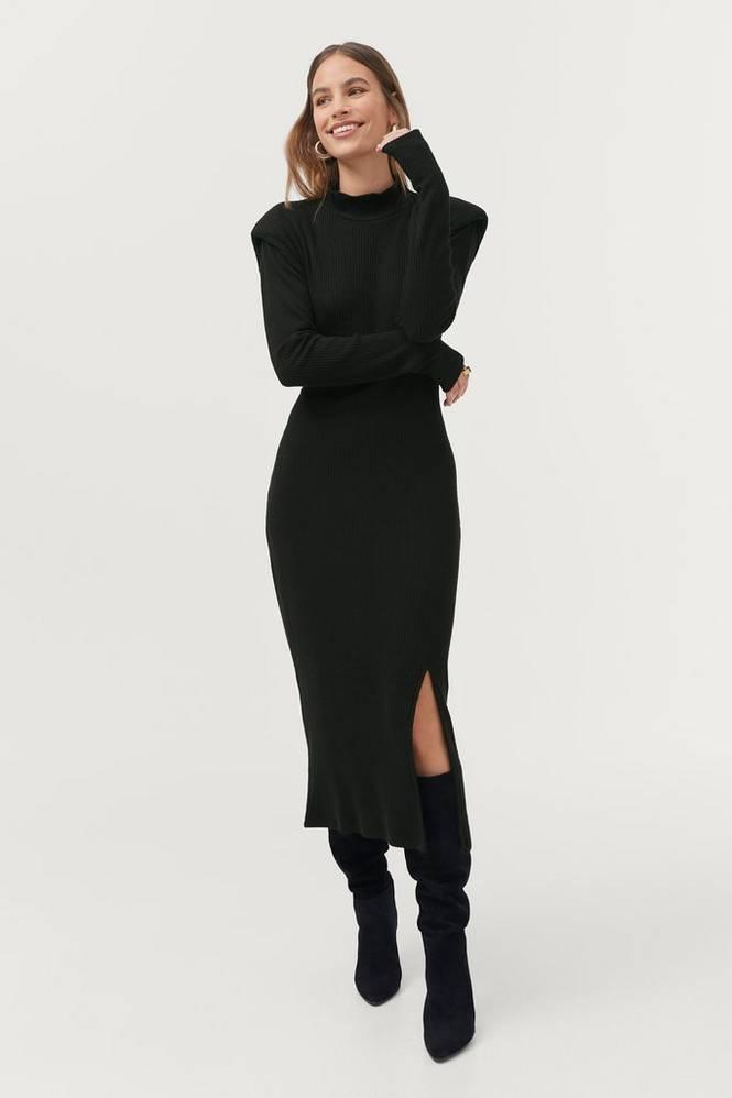 Gina Tricot Kjole Sophia Rib Dress