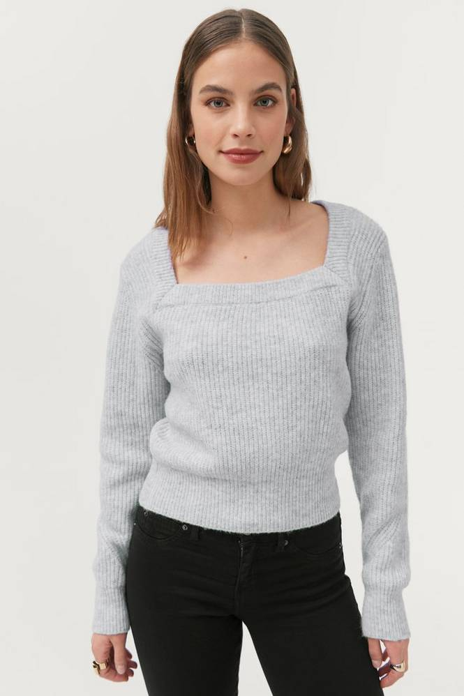 Gina Tricot Trøje Kim Knitted Sweater