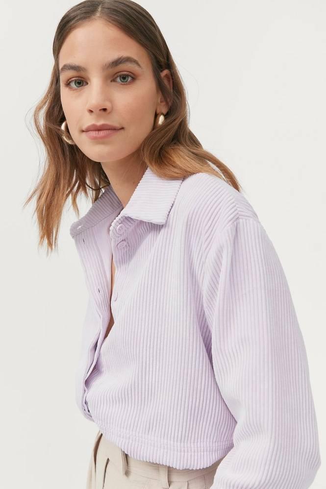 Gina Tricot Fløjlsskjorte Cory Corduroy Shirt