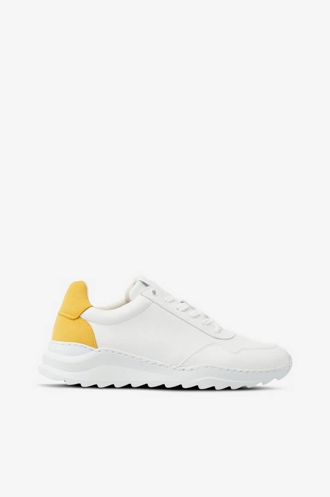 Bianco Sneakers biAdevony Plain Vegan Sneaker